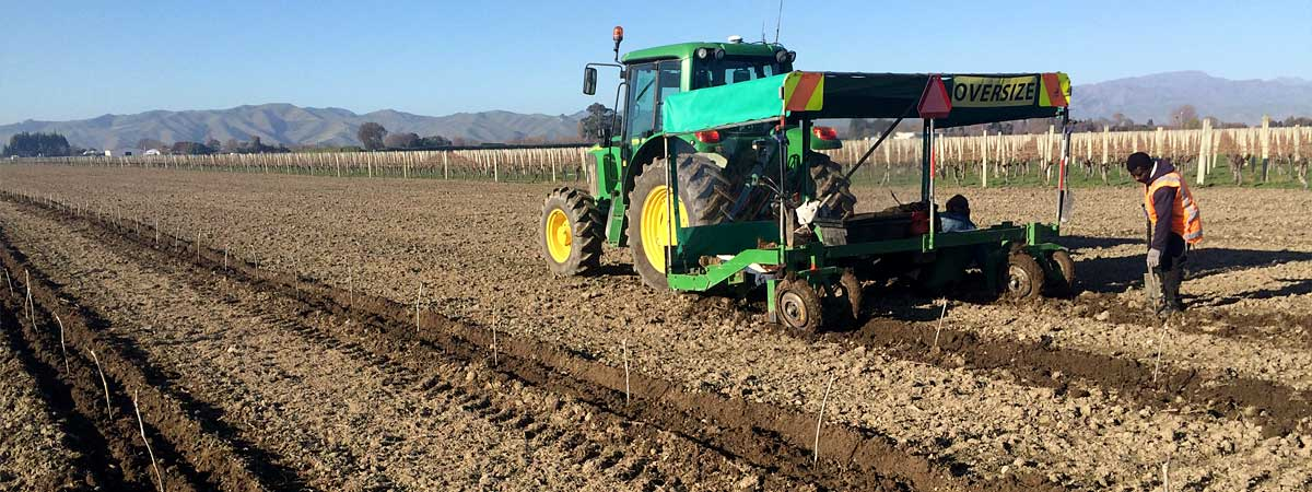 Planting the Vineyard of the Future